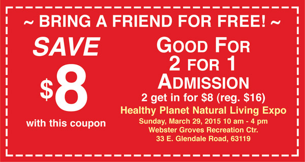 2 for 1 expo ticket