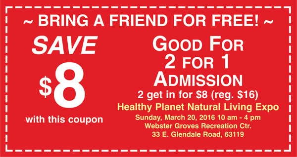 Expo 2016 2 for 1 Coupon