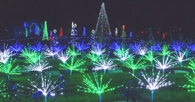 Garden Glow Light Exhibit Highlights Holidays At Missouri Botanical Garden The Healthy Planet