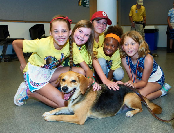 Humane Society Kids for Critters Camps