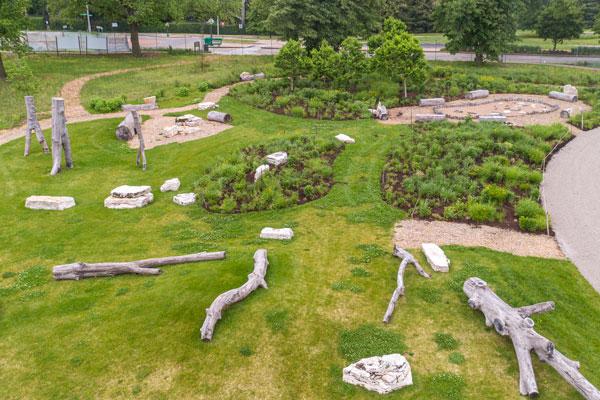 St Louis Forest Park Playscape