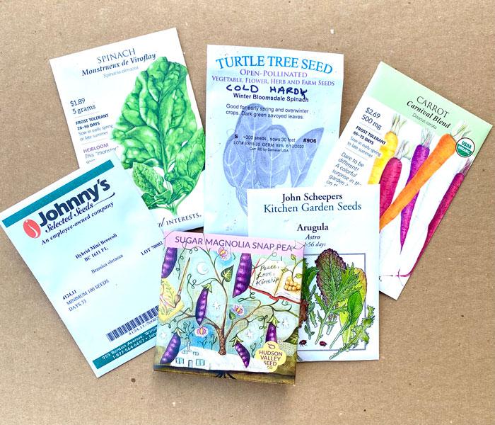 Seed Packages Linda Wiggen Kraft